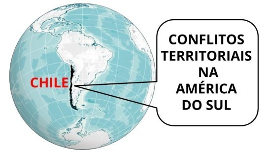 O Chile e as disputas de territórios na América Sul