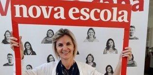 A professora Rosélia Fenner, de Serranópolis do Iguaçu, no Paraná, faz parte do Time de Autores dos planos de aula de Matemática