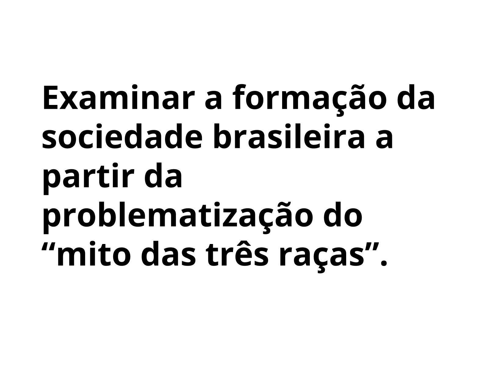 A sociedade brasileira e as suas cores