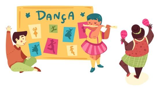 Planejando uma apresentação de dança