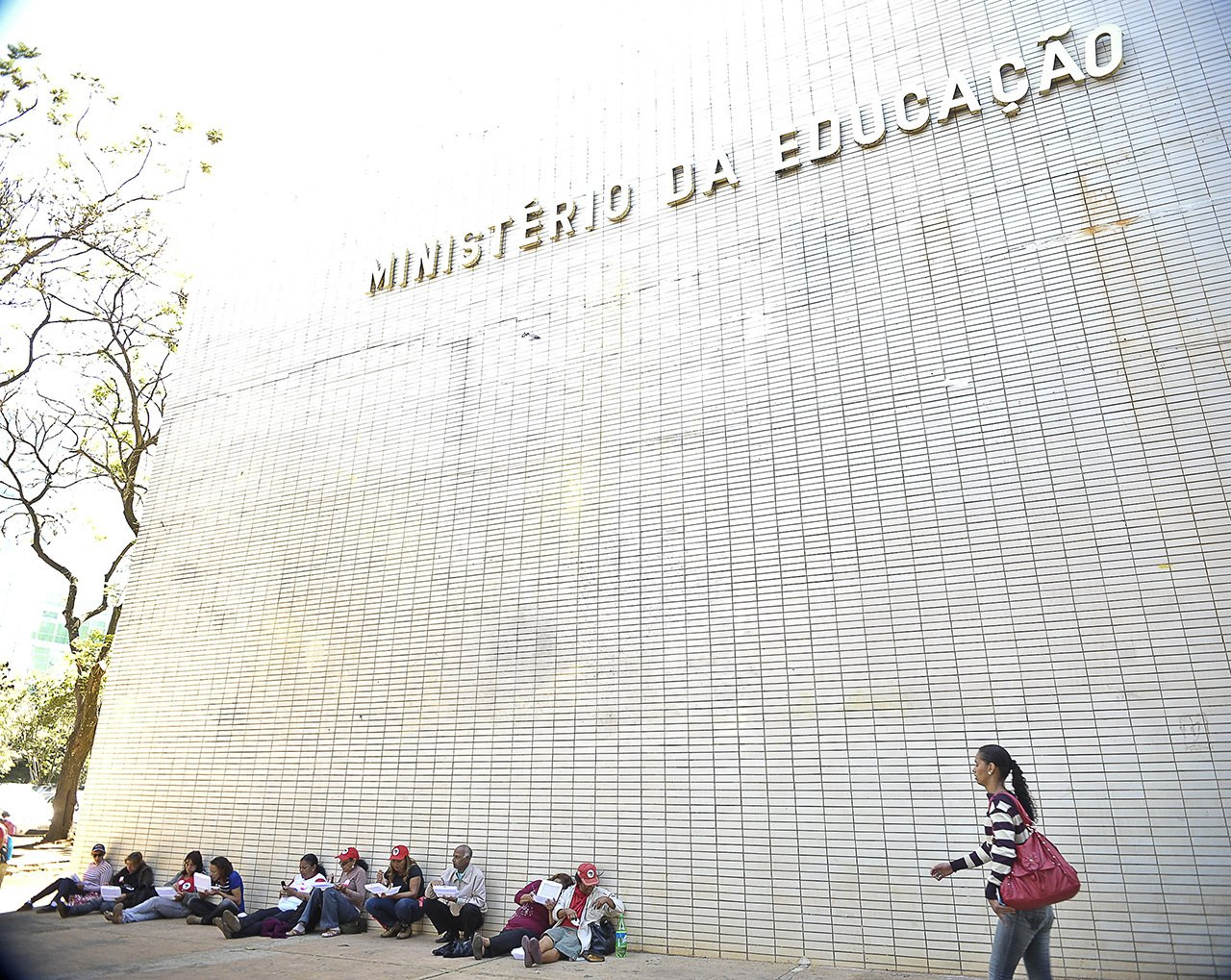 Fachada do Ministério da Educação em Brasília