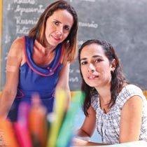 Aparecida e Flávia. Foto: Marcio Vasconcelos