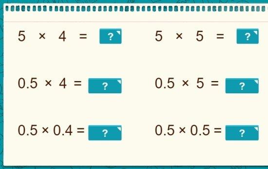 Estratégias de ponto decimal 2