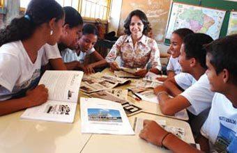 EM TODA A REDE O projeto de Maria do Rosário, vencedor em 2005, foi incorporado ao currículo do município. Foto: Massao Gotto Filho