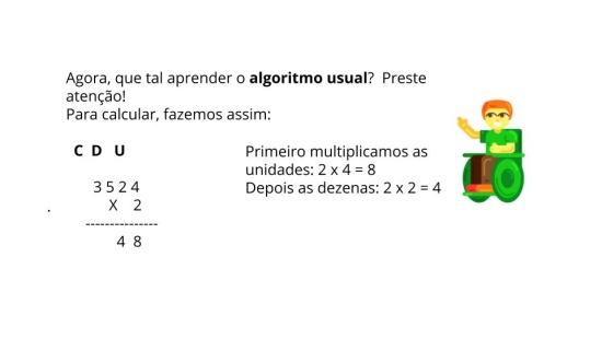 Algoritmo da Multiplicação