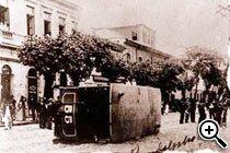 1904 - Revolta da Vacina (Rio de Janeiro). Foto: Reprodução