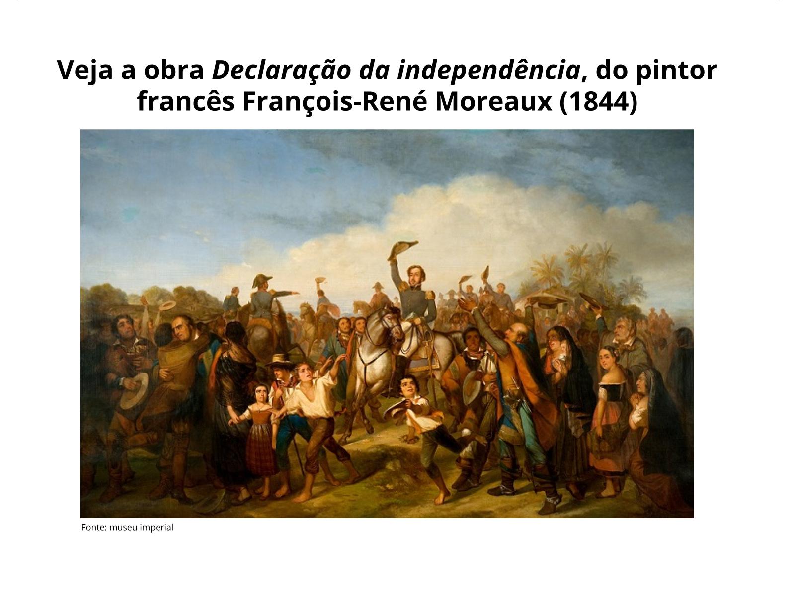 Brasil: Independência e monarquia constitucional
