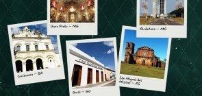 Viaje pelos patrimônios históricos brasileiros
