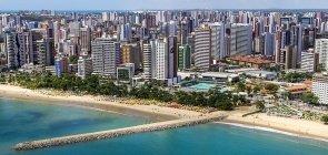Praia de Fortaleza, no Ceará