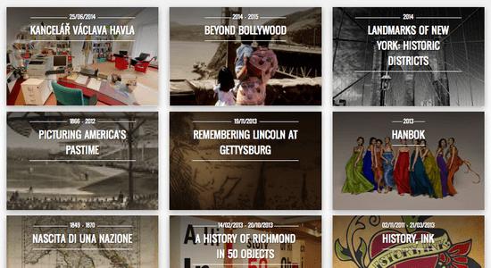 Google Cultural Institute - Momentos Históricos