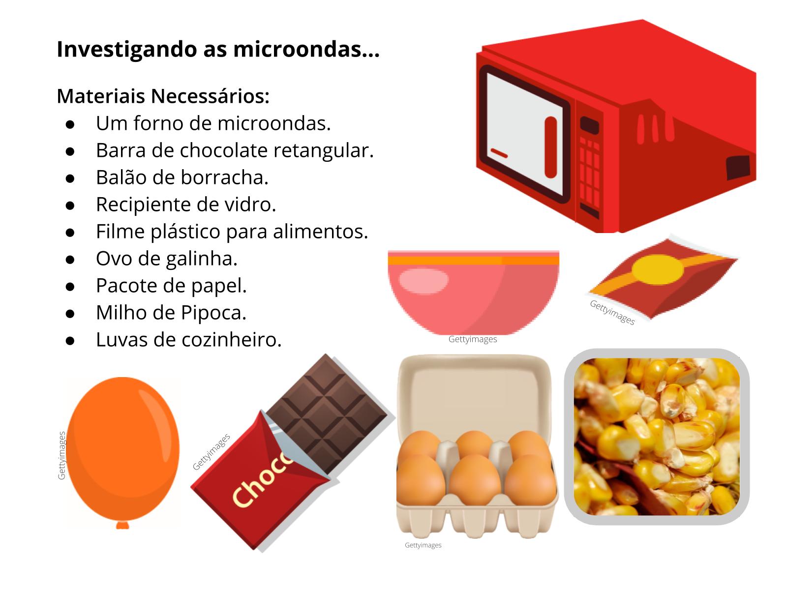 As aplicações das microondas