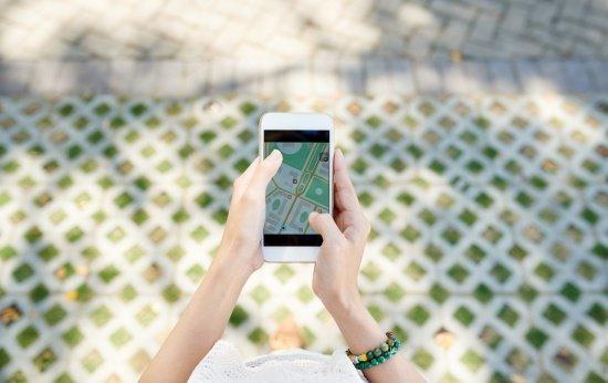 Riscos mapeados com o Google Earth