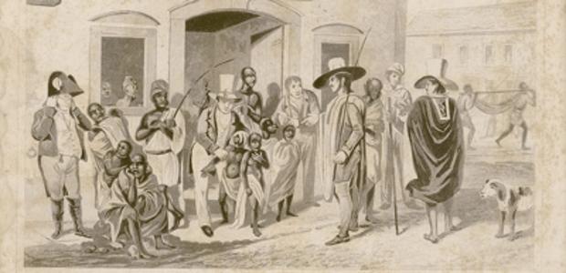 Cais do Valongo. Foto: Reprodução/Slave Voyagers