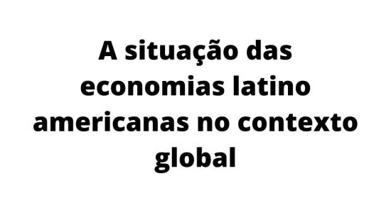 Economia Latino Americana