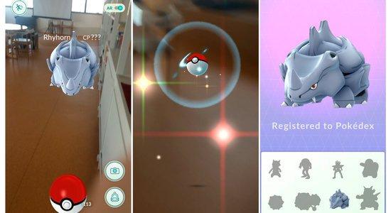 O jogo Pokemon Go invadiu a escola