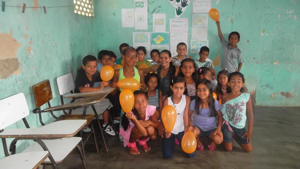 Olha os alunos da professora Ana Paula!