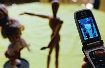 CINE CELULAR - O aparelho captou imagens que serviram de base para animações produzidas pelos alunos