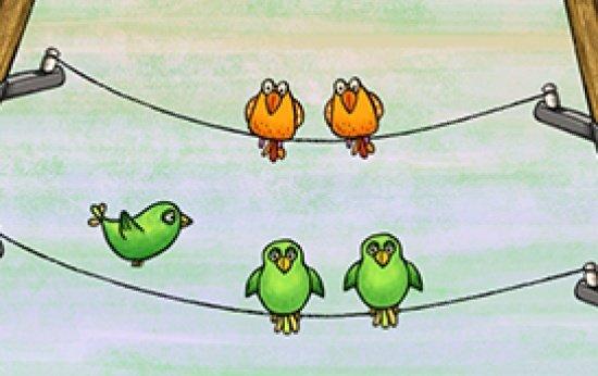 Pássaros no fio