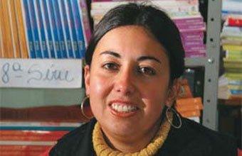 Aline Soares, professora da rede municipal de Herval, RS. Foto: Paulo Rossi