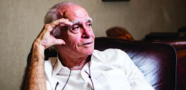 Ignácio de Loyola Brandão. Foto: Bruno Poletti/Folha Press