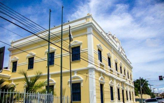 Palácio do Bispo, sede da Prefeitura Municipal de Fortaleza, Brasil.
