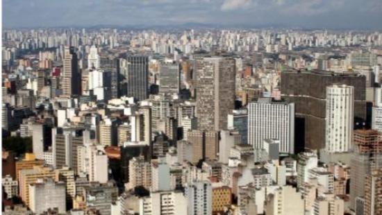 Distribuição da população no território brasileiro