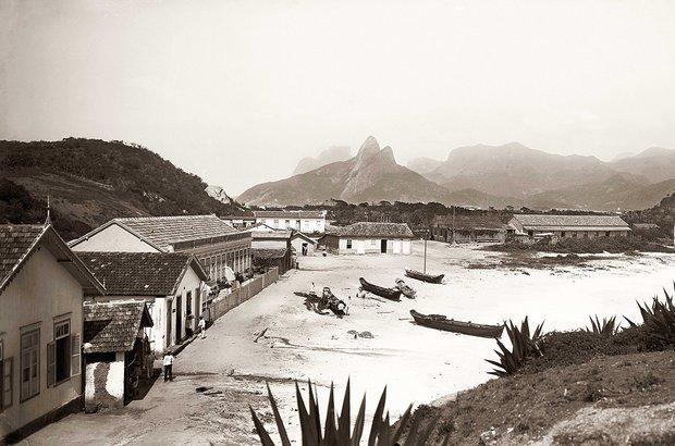 Forte de Copacabana | Crédito: Marc Ferrez / Coleção Gilberto Ferrez / Acervo Instituto Moreira Salles