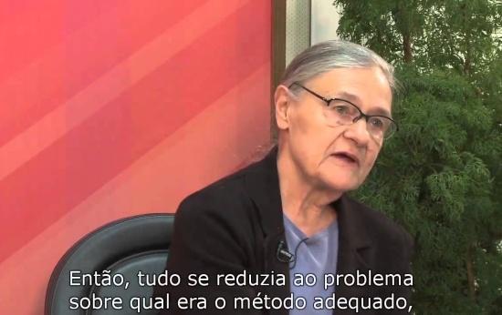Emilia Ferreiro fala sobre sua contribuição às pesquisas sobre alfabetização