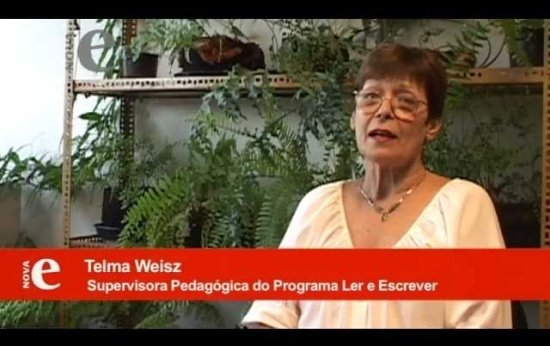 Telma Weisz: A passagem da hipótese silábica para a silábica-alfabética