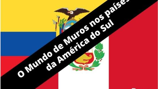 O mundo de muros nos países latino americanos