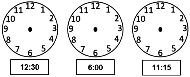 Fazer A Correspondencia De Uma Mesma Hora Em Relogio Digital E