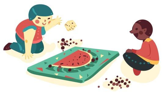 Jogo com dados: O jogo da melancia
