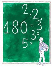 Com os números primos é possível escrever outros números. Ensine a moçada a usar essa estratégia. Melissa Lagoa
