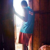 Apesar de ainda não ter um diagnóstico, Luiz, de Marabá, pode engrossar o grupo de 200 mil pessoas com deficiência que estão fora das salas de aula. Foto: Janduari Simões