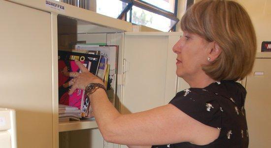 Na escola da Maria Inês, a equipe gestora divide os trabalhos de organização