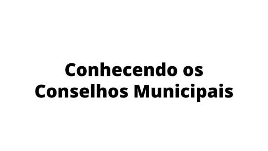 Conselhos Municipais