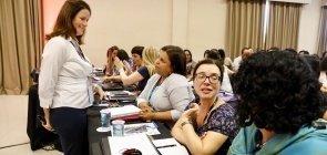 Workshop com Silvana Tamassia sobre como receber feedback