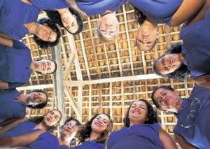 Equipe da Escola Altina Ribeiro Toledo, de Marechal Deodoro: reuniões nos três períodos. Foto: Eduardo Queiroga/Lumiar