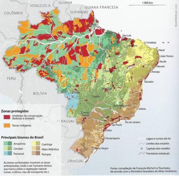 Fonte: DURAND, Marie-Françoise et al. Atlas da mundialização: compreender o espaço mundial contemporâneo. São Paulo: Saraiva, 2009, p. 128