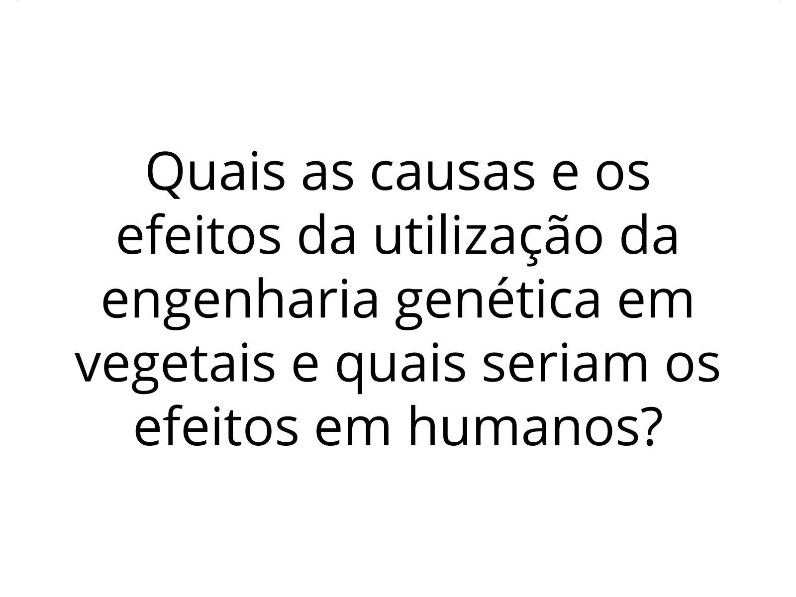 Dilemas do mundo atual - Engenharia genética