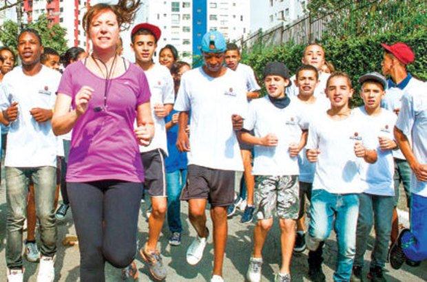 Natalia Gonçalves planejou vivências de corrida em ruas do entorno da escola. Patricia Stavis