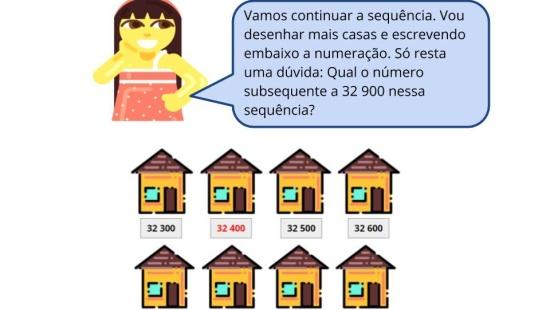 Ordenação e Sequência numérica com  números de 5 ordens
