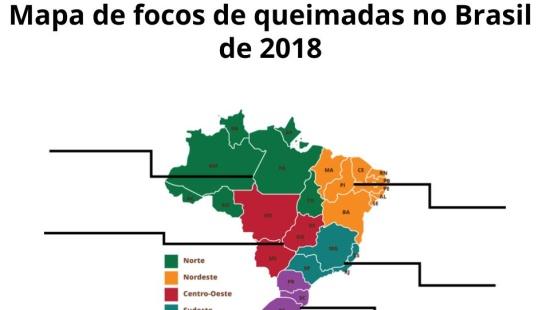 As queimadas no Brasil