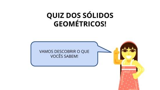 Carimbo matemático! Associando as figuras planas como parte das não planas
