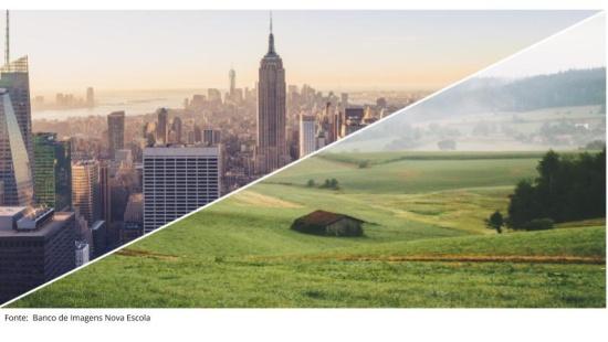 O ser humano transforma a paisagem