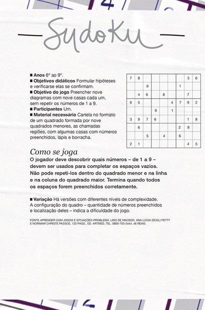 Jogo: Sudoku