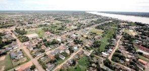 Vista aérea de Humaitá, Amazonas