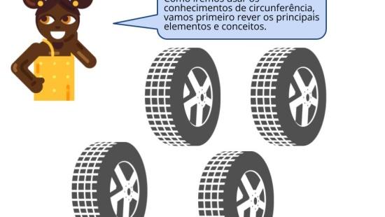 A matemática e a roda do carro