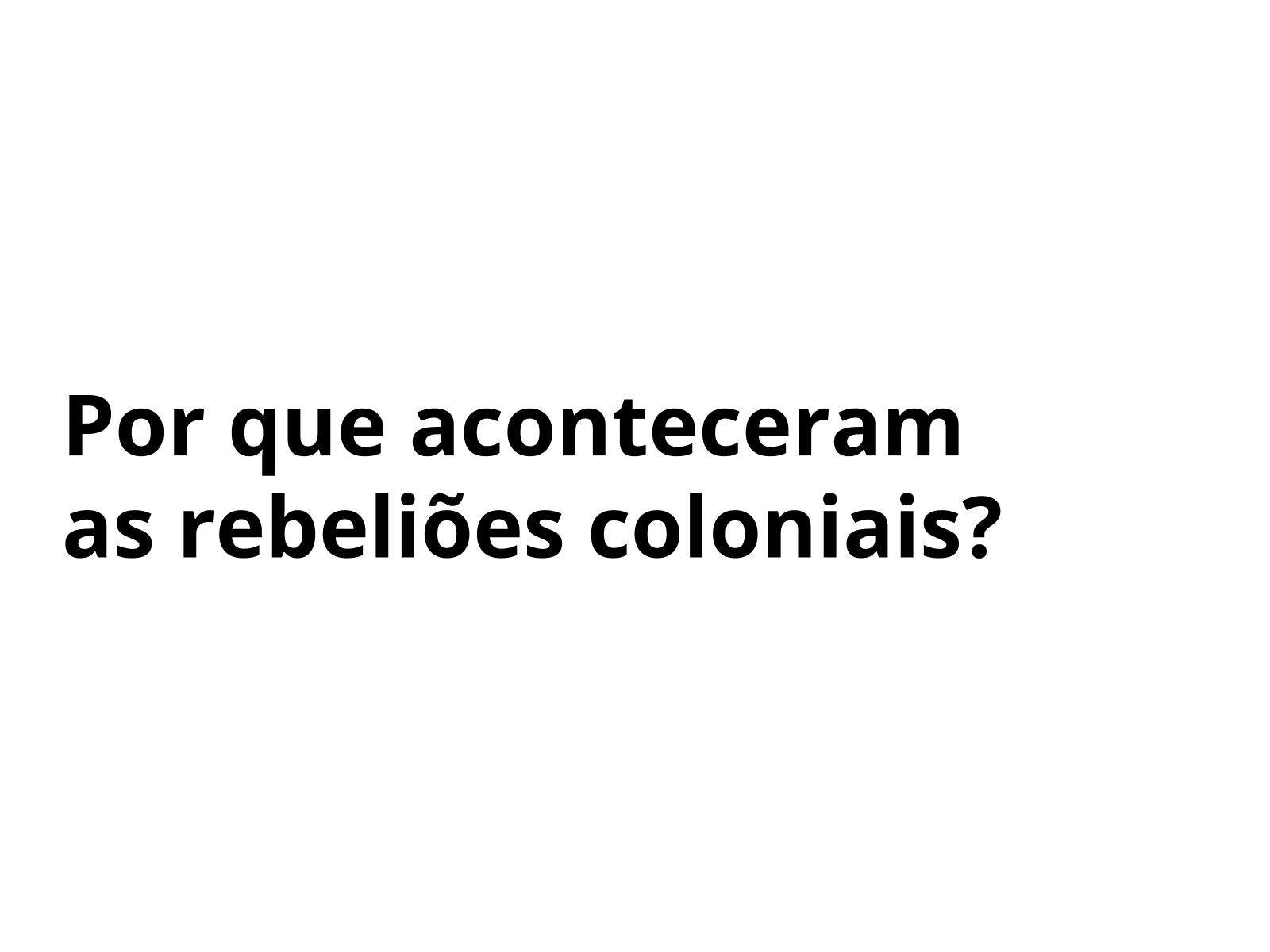 Crise, contradições e revoltas:  a situação do Brasil no fim do século XVIII