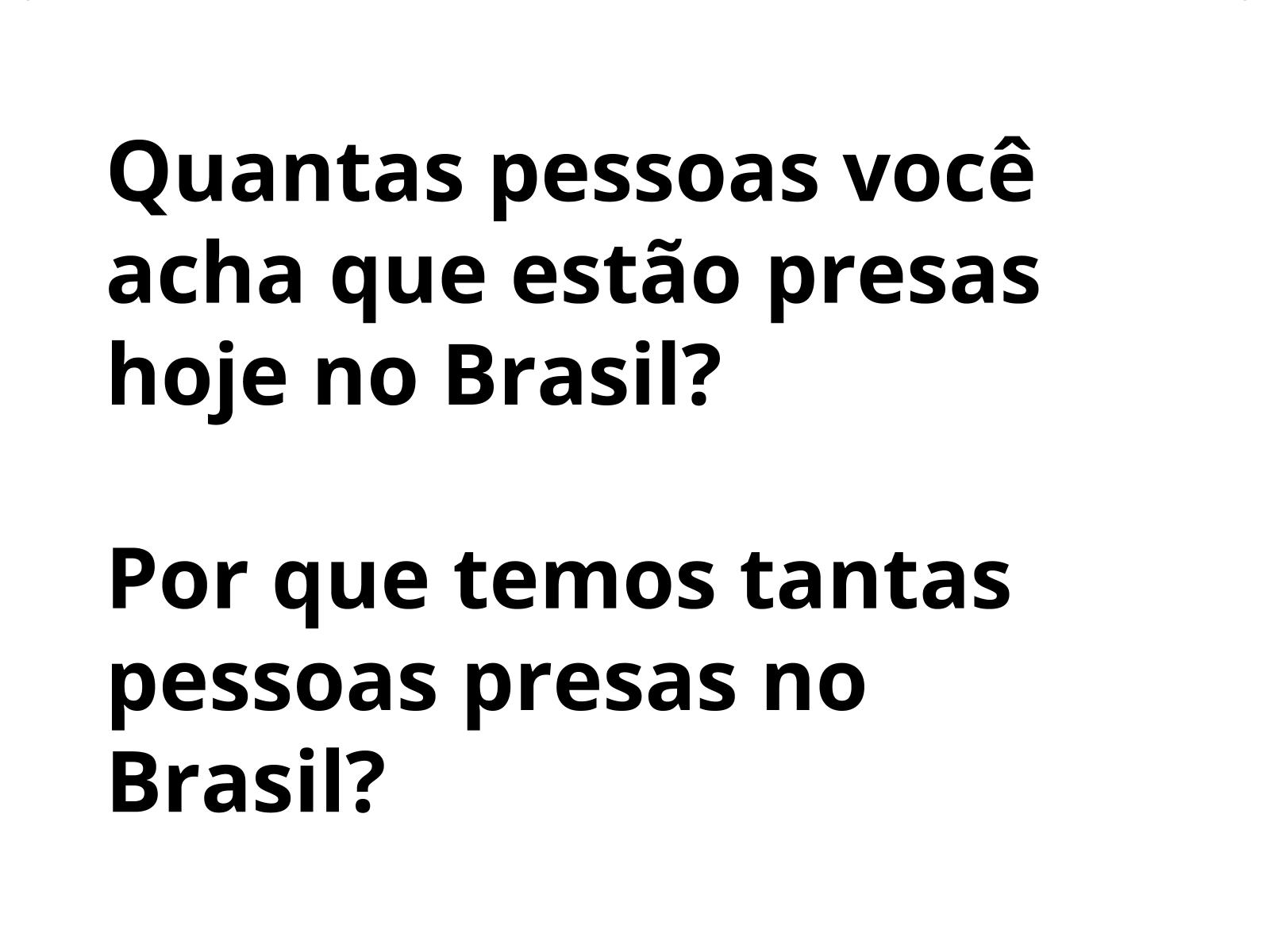 Brasil hoje: segurança, prisões e direitos sociais